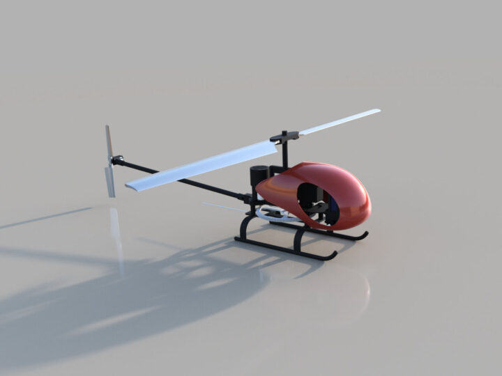 Dragonfly Helicopter Toy