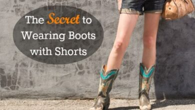 Photo of How to Combine Boots with Shorts – 2020 Online Style Advice