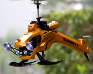 Odyssey Flying Machines ODY-908R Dragon Fly 2.4 GHz RC Helicopter, Large