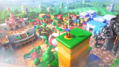 Photo of Nintendo's Theme Park Gets An Opening Date