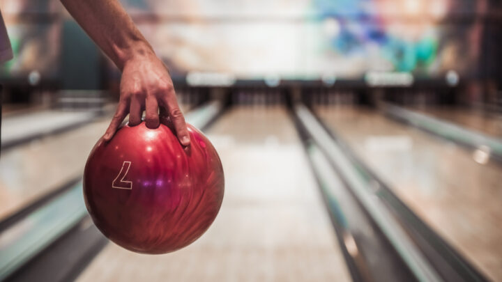 Surface of Bowling Ball