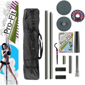 Pro-Fit Professional Portable Spinning Dance Pole